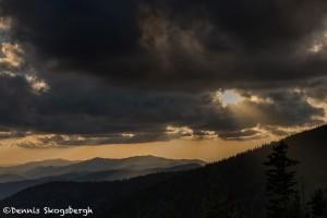 5312 Sunset, Clingman's Dome, Great Smoky Mountains National Park, TN