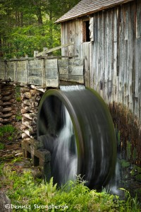 5320 Grist Mill, Cade's Cove, Spring, Great Smoky Mountains National Park, TN