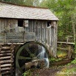 5321 Grist Mill, Cade's Cove, Spring, Great Smoky Mountains National Park, TN