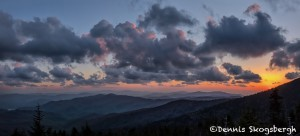 5334 Sunset, Clingman's Dome, Spring, Great Smoky Mountains National Park, TN