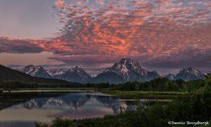 5384 Sunset, Oxbow Bend, Grand Teton National Park, WY