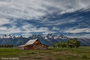 5389 John Moulton's Barn, Morman Row, Grand Teton National Park, WY