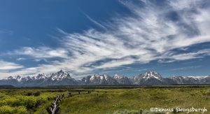 5397 Tetons from Cunningham's Ranch, Grand Teton National Park, WY