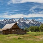 5399 Panorama, John Moulton's Barn - Teton Range, Grand Teton National Park, WY
