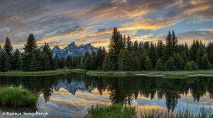 5400 Sunset, Schwabacher's Landing, Grand Teton National Park, WY