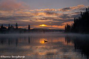 5449 Foggy Sunrise, Lac Le Jeune, BC