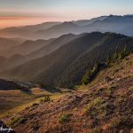 5519 Foggy Sunrise, Blue Mountain, Olympic National Park, WA