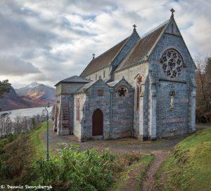 6979 Glenfinnan Church of St Mary and St Finnan, Loch Shiel, Scotland