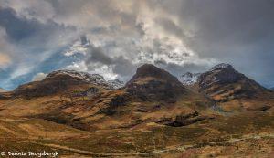 6990 Panorama 3-Sisters, Bidean nam Bian, Glencoe, Scotland