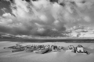 7037 Boat Graveyard, Hokkaido, Japan