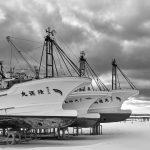 7046 Winter Boat Storage, Wakkanai, Hokkaido, Japan