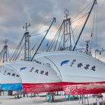 7047 Winter Boat Storage, Wakkanai, Hokkaido, Japan