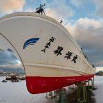 7048 Winter Boat Storage, Wakkanai, Hokkaido, Japan