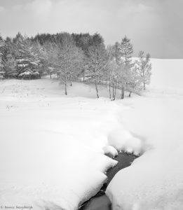 7075 Winter Landscape, Oumu, Hokkaido, Japan