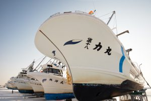 7090 Winter Boat Storage, Hokkaido, Japan