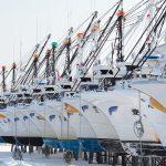7091 Winter Boat Storage, Hokkaido, Japan