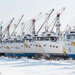 7096 Winter Boat Storage, Hokkaido, Japan