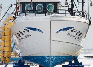 7098 Winter Boat Storage, Hokkaido, Japan