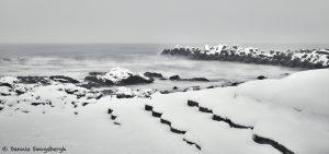 7111 Winter Coastal Landscape, Wakasakanai, Hokkaido, Japan 1