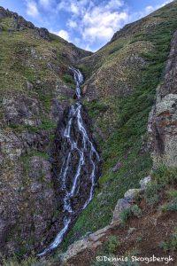 5338 Waterfall to Crystal Lake, San Juan Mountains, CO