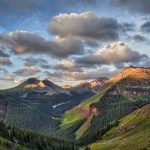 5339 Sunrise, Road to Crystal Lake, San Juan Mountains, CO