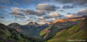 5339 Sunrise, Road to Crystal Lake, San Juan Mountains, CO