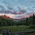 7268 Sunset, Mt. Sneffels Wilderness Area, Uncompahgre National Forest, Co
