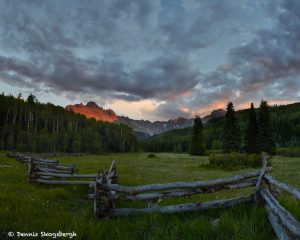 7270 Sunset, Mt. Sneffels Wilderness Area, Uncompahgre National Forest, Co