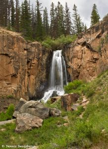 9265 South Clear Creek Falls, Near Creedo, CO