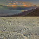 1035 Sunset, Death Valley Salt Pan