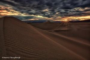 1032 Sunrise, Death Valley Sand Dunes