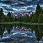 1283 Sunrise, Schwabacher Landing, Grand Tetons, WY
