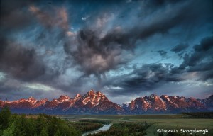 1292 Sunrise, Grand Tetons, Snake River, WY