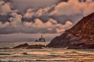 1262 Indian Beach, Tillamook Rock Lighthouse, OR