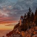 1687 Sunset, Bass Harbor Head Light