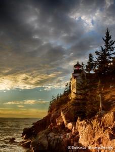 1688 Sunset, Bass Harbor Head Light