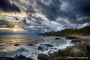 1692 Sunrise, Portland Head Lighthouse