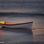 1676 Dinghy, Autumn Sunset