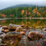 1683 Autumn Morning, Jordan Pond