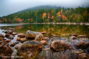 1683 Autumn Morning, Jordan Pond