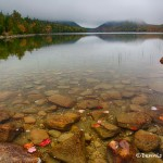 1684 Foggy Autumn Morning, Jordan Pond