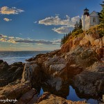 1686 Sunset, Bass Harbor Light