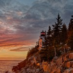 1687 Sunset, Bass Harbor Head Light