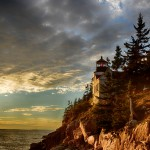1688 Sunset, Bass Harbor Head Light