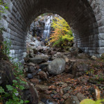 2985 Waterfall Bridge and Hadlock Falls, Acadia National Park, ME