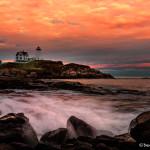 3231 Sunset, Nubble Lighthouse, Cape Neddick, ME