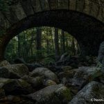 6130 Carriage Road Cobblestone Bridge, Acadia National Park, Maine
