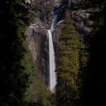 1069 Yosemite Falls, Winter