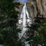 1070 Winter, Upper Yosemite Falls