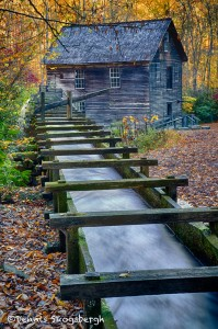 1694 Wooden Flume of Mingus Grist Mill